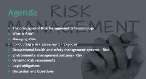 Risk Management Agenda